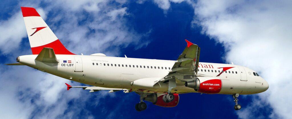 Austrian Airlines: Bei Flugausfall oder Flugverspätung Entschädigung bis zu 600 € pro Person.